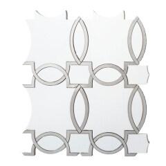 Wholesale Luxury Waterjet Metal  and Stone Mosaic For  Backsplash