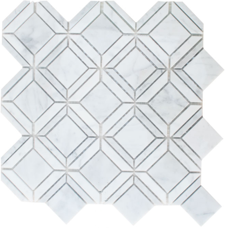 Luxurious Decorative Wall and Floor Natural marble Mosaic Patterns