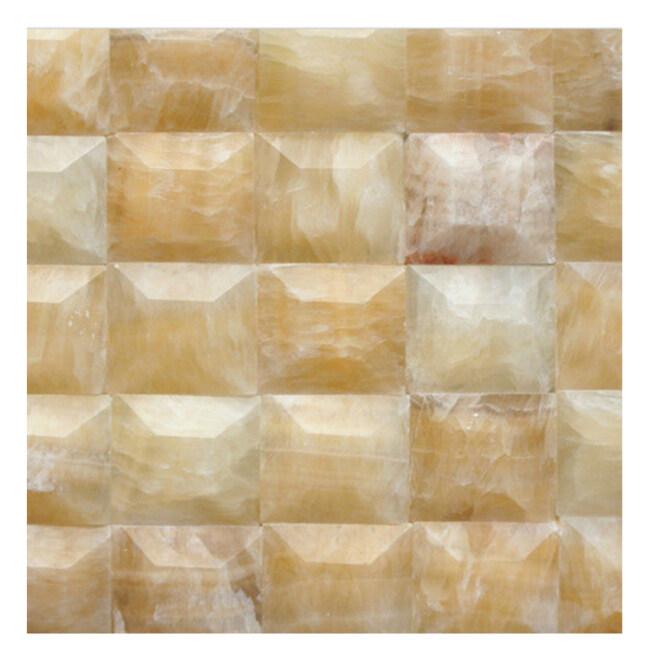 Cream Jade Marble Tiles, Green Jade Tile, Jade Stone Tile (KS20130006)