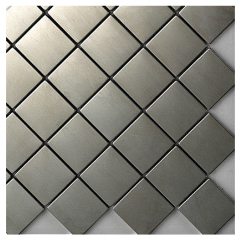 Stainless Steel Wall Tiles,metal mosaic,rhombus metal mosaic tiles