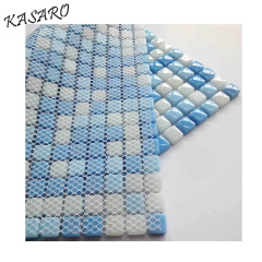 Recycle blue mosaic swimming pool tiles for sale