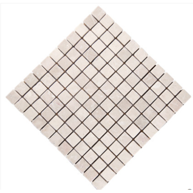 Natural Stone Marble Mosaic Wall Stickers Self-adhesive Bathroom Tile Living Room