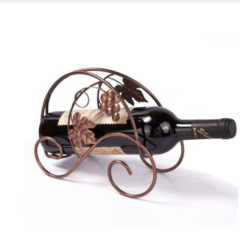 Wideny Popular Items New Design Iron Wire Holder Metal Powder Coated Wine Rack For Wine Bottle Display