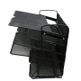 6 Trays Desktop Document Office Desk Paper Holder Letter Tray Organizer