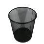 office metal Mesh Round waste bin Recycling basket D 22 Top 28 cm paper Wastebasket