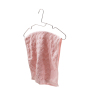 Good-looking Under Pressure Iron Chrome Plate Silver Drying Rack Cloth Hangers for Towel