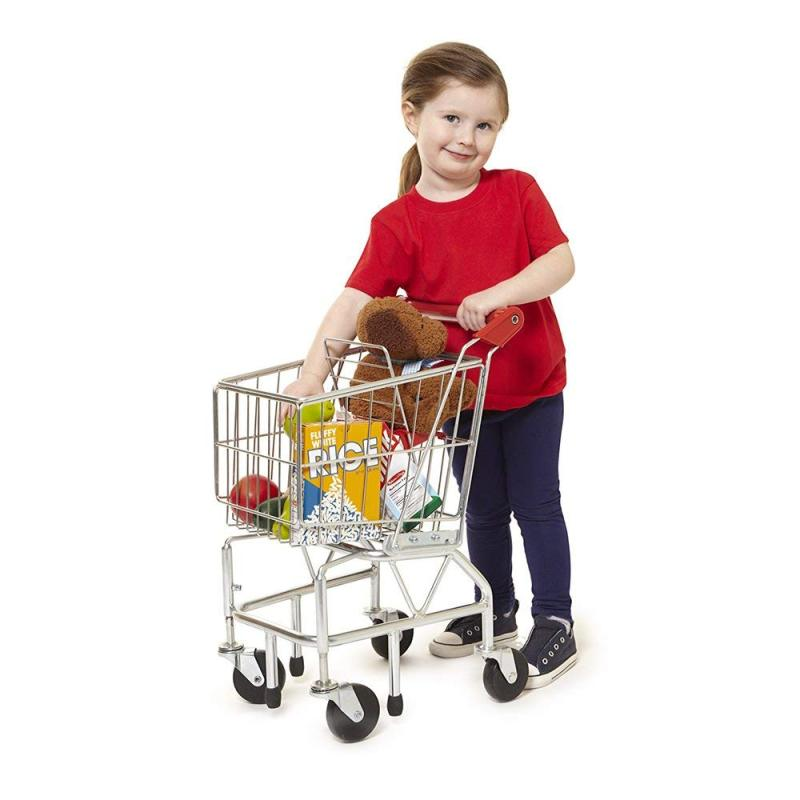 Amazon Hot Sale Foldable Personal Mini Baby Folding Supermarket Basket Shopping Cart Trolley Cover