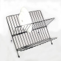 2-layer Multifunctional Storage  stainless steel dish drainer for metal dish drainer dish rack with drainboard