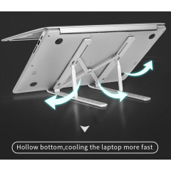 Amazon Ergonomic Adjustable Portable Foldable Laptop Stand Table Tablet Holder For Bed Sofa Couch