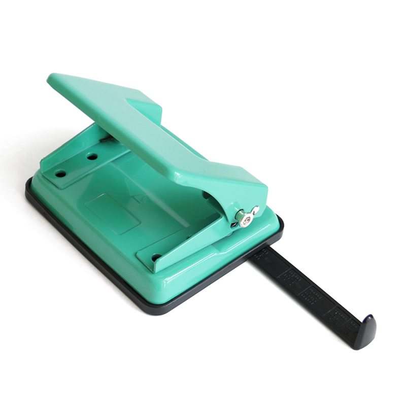 Best Service 18 Sheets Paper Puncher 5.5mm Double Hole  High Quality Colorful Metal Paper Craft Punch