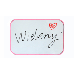 Plastic Frame Double Side Kids Lapboard Magnetic Includes Whiteboards Easy to Write and Erase Whiteboard