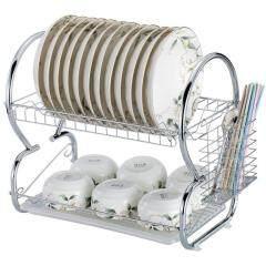 Wideny Wholesale Kitchen Multipurpose Collapsible Metal Storage Stainless Steel Folding Dish Racks