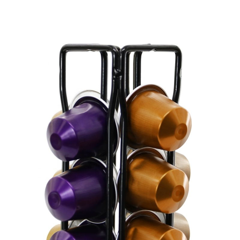 Good quality 40 Pods Nesspresso Coffee Display Capsule Holder for home use