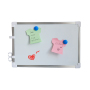 Office and School Supplies Aluminium Frame Free Stand Magnetic Dry Erase Green White Board Magnetic Whiteboard