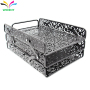 Office Home Storage Metal Mesh  File Organizers for Office Storage Document Desk Top Pulling Style File Tray