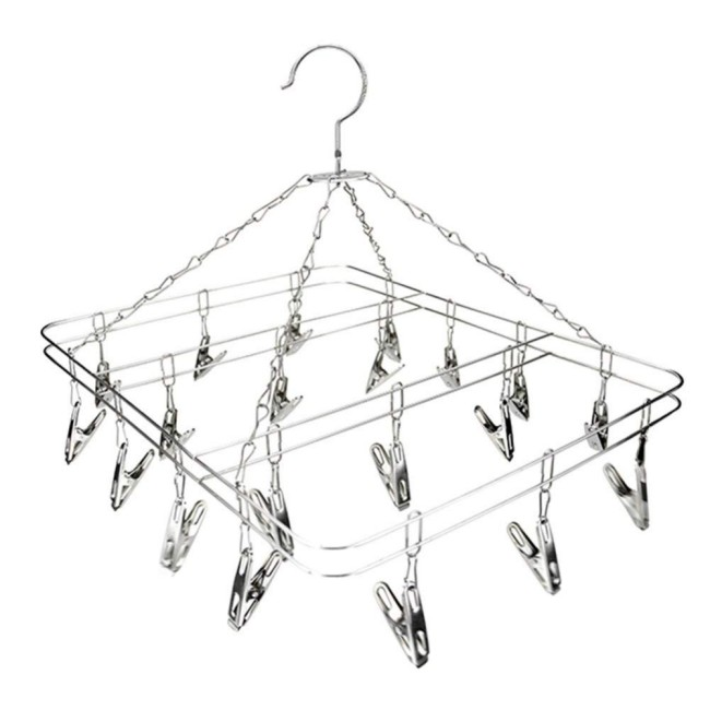 home use outdoor folding white metal iron wire wall hanging kids cloth clothes clothing drying dryer rack