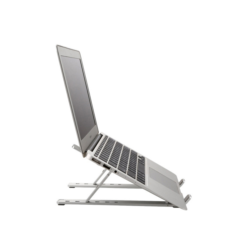 Household Desktop Multi-functional Office Portable Laptop Table Stand, Adjustable Foldable Aluminum Laptop Stand