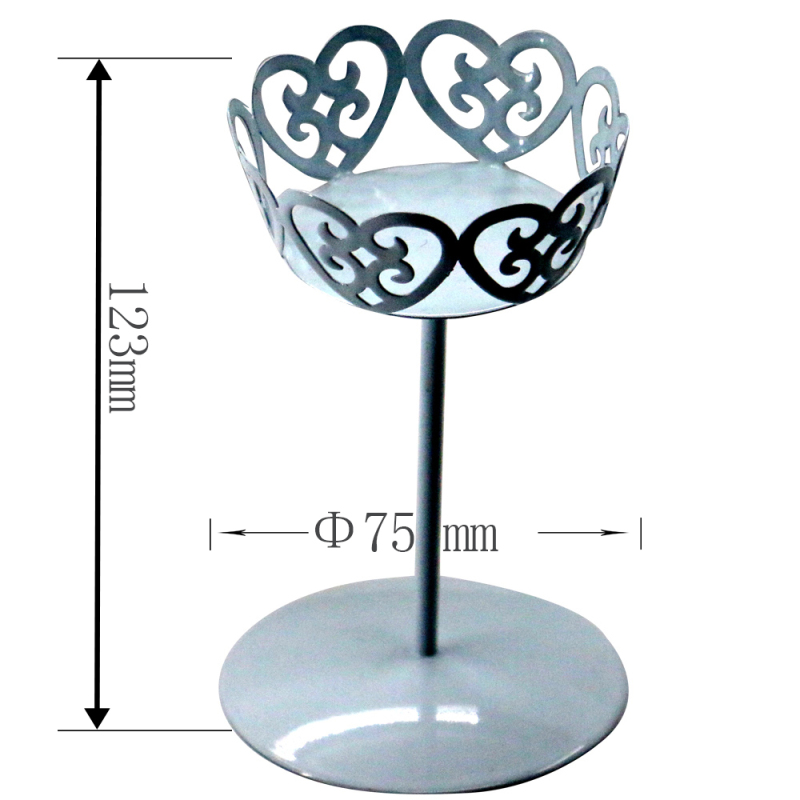 Wideny household home Birthday Party Metal Iron plate colorful rotating bread wedding cup cake stand