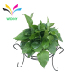 Garden use wall hanging metal wire flower pot rack