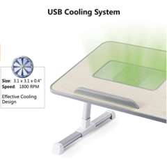Large Foldable Legs Notebook Computer Desk Adjustable Laptop Stand for Eating in Bed Sofa Couch Floor