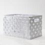 wholesale supply  home office mesh fancy  bread toy desktop metal storage basket