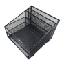 metal mesh 3 Horizontal Tray and 2 Upright file holder tray desk document organizer
