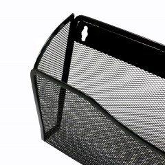 Wideny Office school mesh mount mounted hanging file wall organizer metal