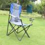 Beach Big Boy Metal Outdoor Or Camping Portable Fold Chair