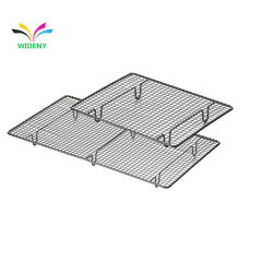 WIDENY 2 Tier Bbq Commercial Cookie Sheet And Stainless Steel Set Baking Metal Iron Wire Cooling Rack