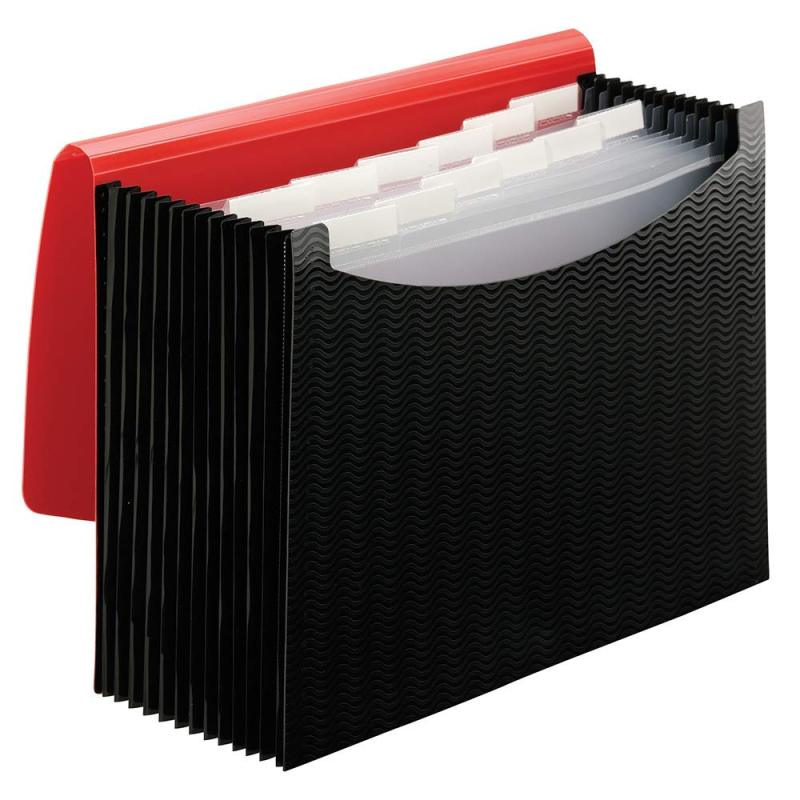 hot sell a4 hardcover pocket expanding document separators accordion file folder