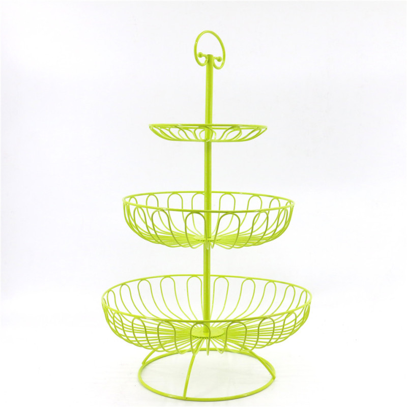 Party wholesale foldable pink china supplier iron wire plate candy bread metal steel tray wedding cupcake cup cake stand