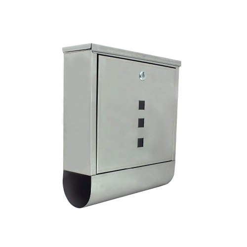 2019 Amazon Hot Sale  High quality wholesale commercial mini stainless steel lockable Waterproof Letter Box mailbox