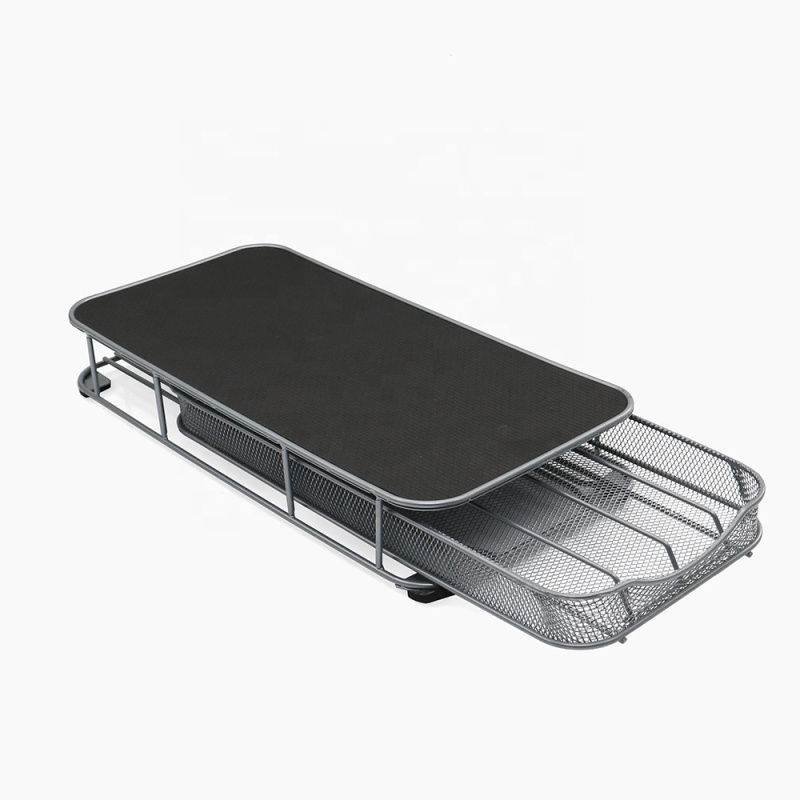 Good Quality powder coated iron dolce gusto mesh coffee capsule drawer for home office use
