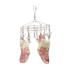 Household Multi-Functional Stainless Steel Drying Racks Space Saving Hangers for Clothes
