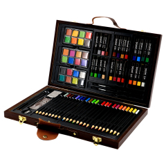 Amazon Hot Sale Wholesale stationery School Professional supplie scolors pencils&pastel set for children drawing painting art