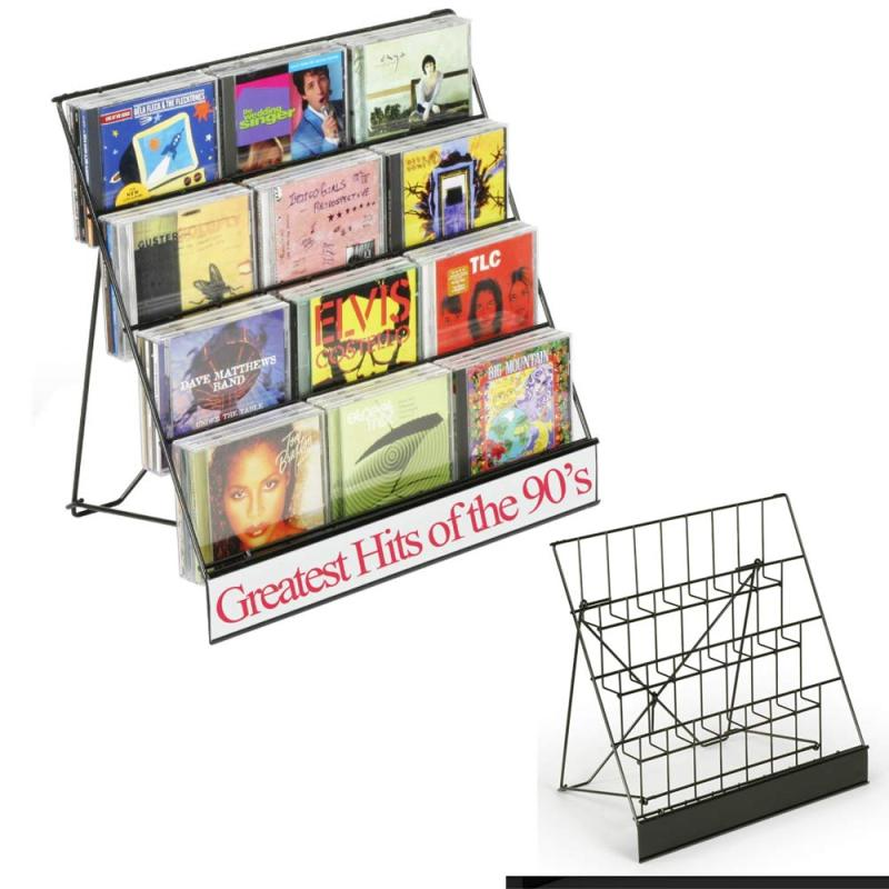 wholesale 2019 new fashion double wide metal design furniture magazine rack for display newspaper magazine