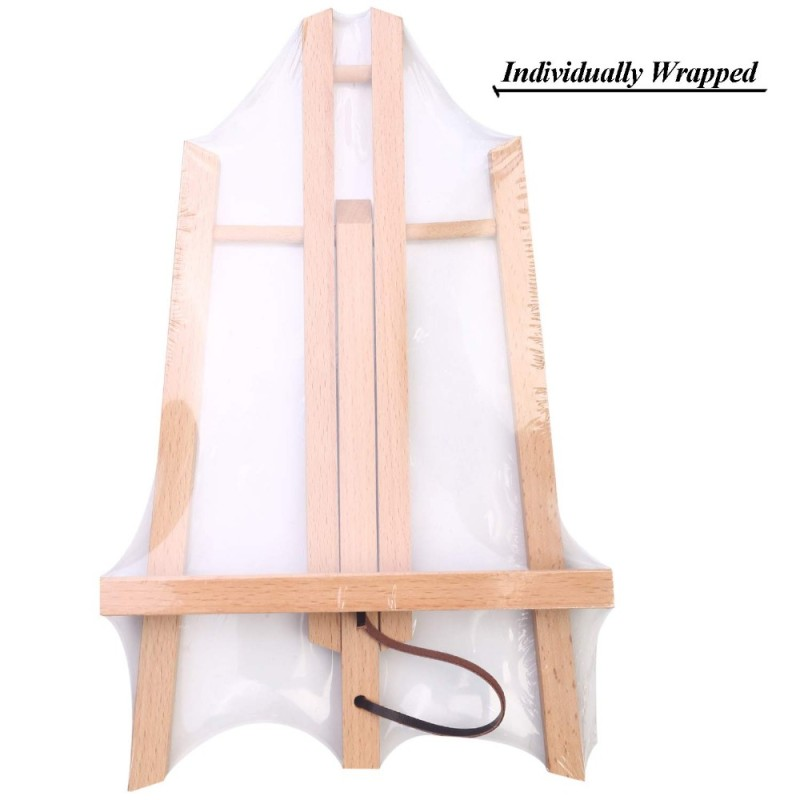 Tabletop Art Easel Mini small wooden folding painting table tabletop easel for kids