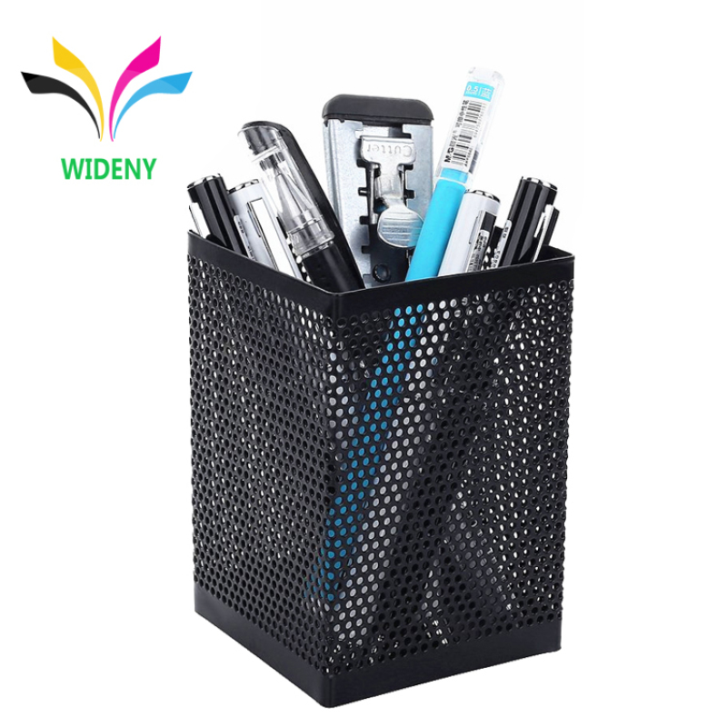 Office school supplies wire metal table pen pen holder for ball pen
