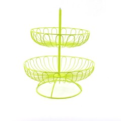 Party decorating decorative fancy foldable iron wire plate candy bread metal wedding cupcake cup cake stand for fruit holder