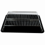 plated Steel Foldable X Shape 2 layer Shelf Small Dish Drainers with Drainboard