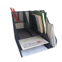 Home or office High quality colorful iron metal custom triangle conference business portfolio file organizer