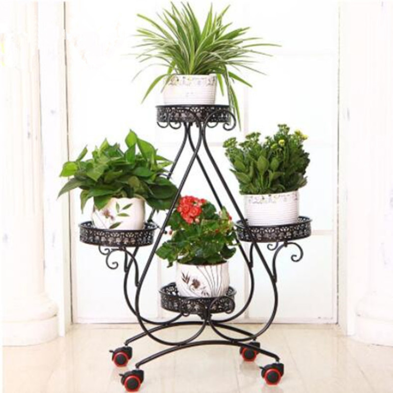 Amazon Hot Sale High Quality Tall Wall Backdrop Wedding Decoration Flower Stand Centerpiece Living Room Flower Stand