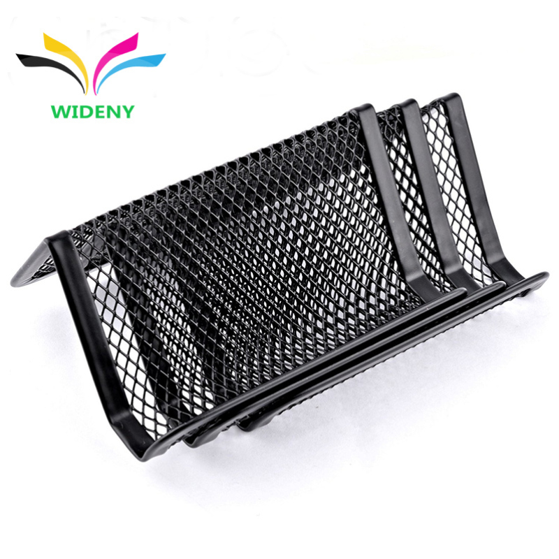 New Products Desk Office Business Light Mesh Card Holder For Name Card