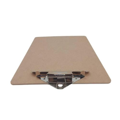 OEM A5 size Custom logo office wall mounted acrylic files clipboard with pen holder display rack