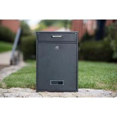 Manufacture Direct Sale Waterproof Cast Aluminum Christmas Tin European Style Indoor Steel City Mailbox