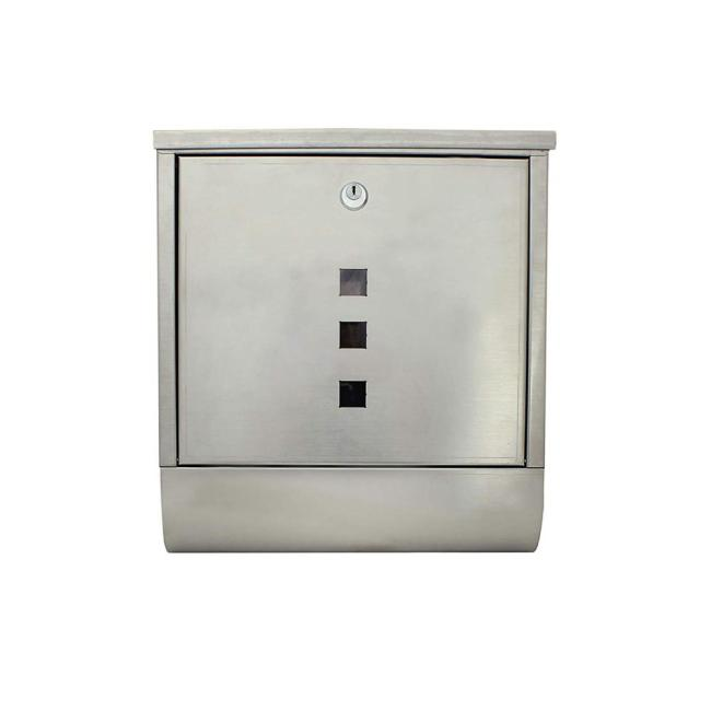 Amazon Hot Sale Wholesale new design smart metal aluminium waterproof secure mailbox