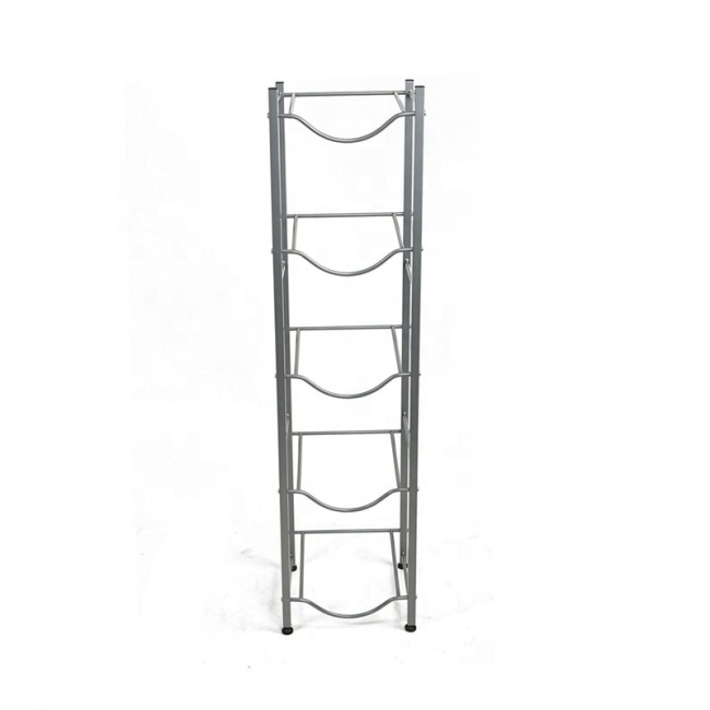 2020 Hot product 5-Tier Silver Jug Holder Water Bottle Storage Rack  for water dispenser