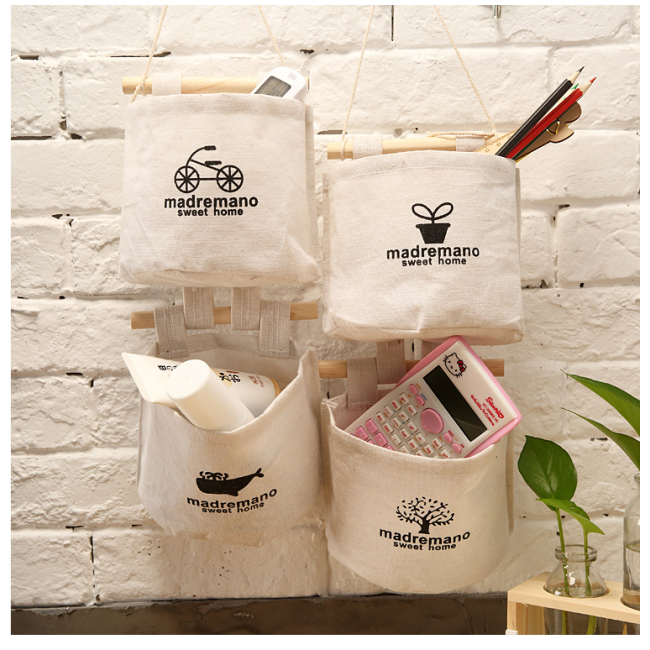 Hot sale Home  waterproof  Fabric storage hanging storage bag organizer