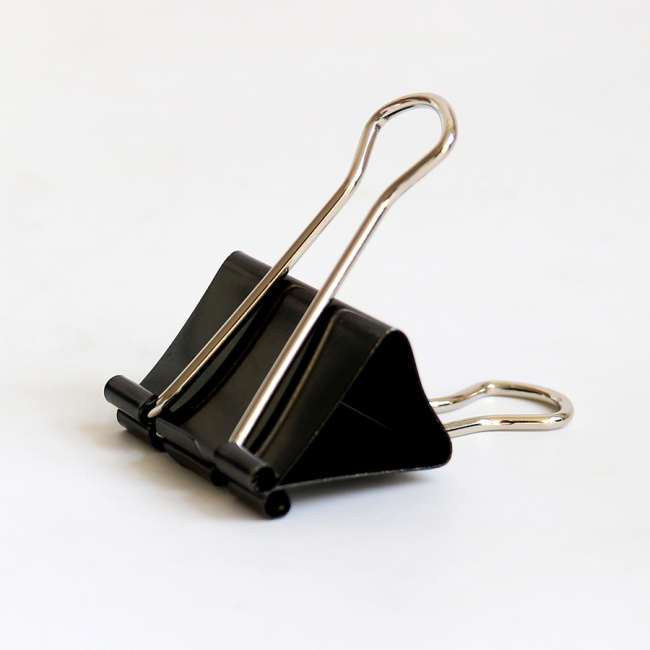 Custom Logo Metal Iron Jumbo Clamps Paper Binder Clips for Office School Supplies