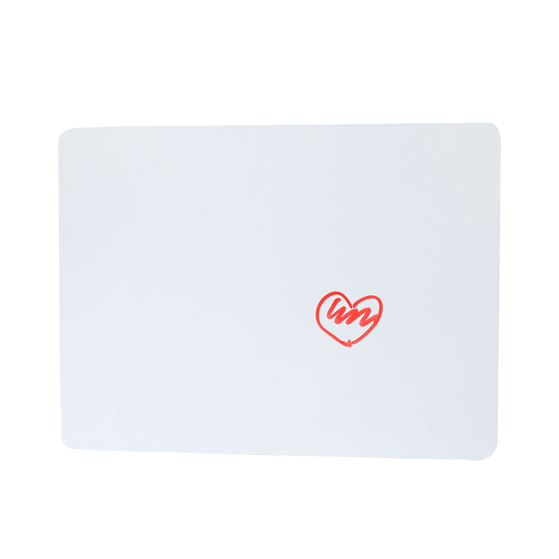 No frame easy clean mini size dry erase board Wideny custom package wall hanging children drawing magnetic white board